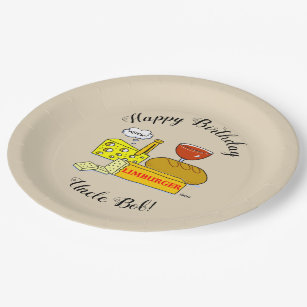 Humorous Cheese and Wine Tasting Birthday Party Paper Plate  sc 1 st  Zazzle & Wine Tasting Plates | Zazzle