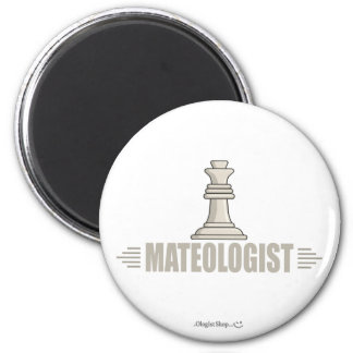 Humorous Chess Player Magnet
