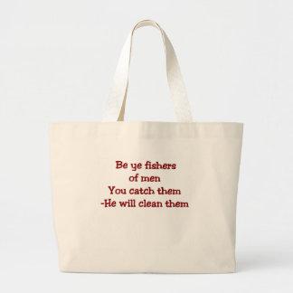 Humorous Christian Tote Bag