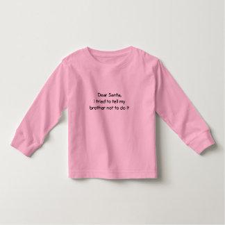 Humorous Christmas Apparel Toddler T-shirt