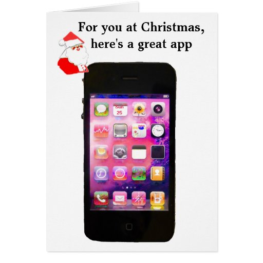 Christmas Card App Iphone Holliday Decorations