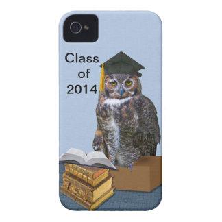 Humorous Class of 2014 Graduation Owl Case-Mate iPhone 4 Case