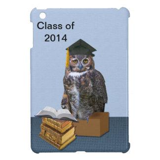 Humorous Class of 2014 Graduation Owl iPad Mini Covers