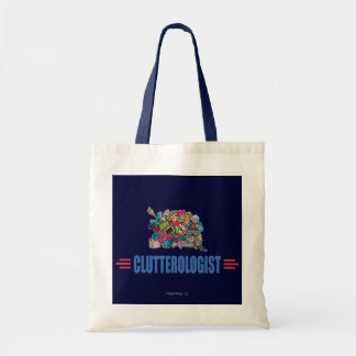 Humorous Clutter Tote Bag