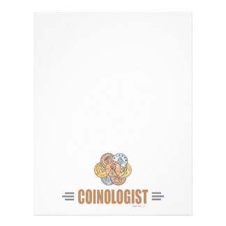 Humorous Coin Collector Personalized Flyer