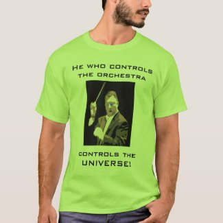 Humorous Conductor T-Shirt Men