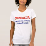 Humorous Conservative Shirt
