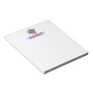 Humorous Cross Country Skier Notepad