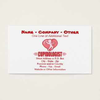 Humorous Cupid Business Card