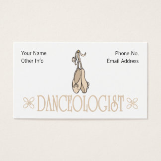 Humorous Dancing Business Card