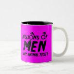 Humorous divorced slogan coffee mugs