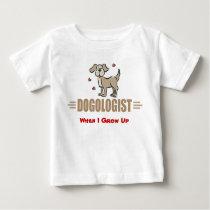 Humorous Dog Lover Baby T-Shirt