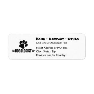 Humorous Dog Lover Label