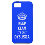 Humorous dyslexia iPhone 5 covers