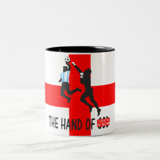 Humorous England Two-Tone Coffee Mug
