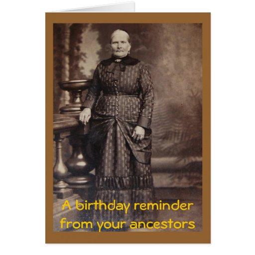 Rude vintage photo happy birthday card zazzle
