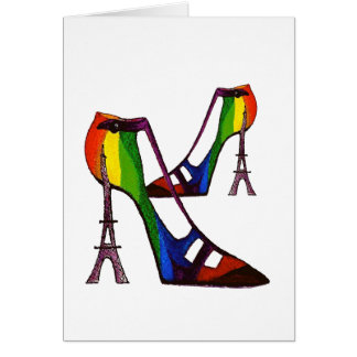 Humorous Fantasy Shoe Card