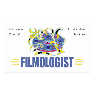 Humorous Film Double-Sided Standard Business Cards (Pack Of 100)