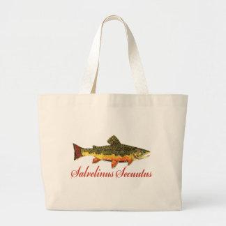 Humorous Fish Fishing Fly Fishing Bag