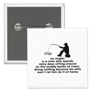Humorous Fishing Pins