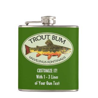 Humorous Fishing Flask