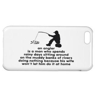 Humorous Fishing iPhone 5C Cover