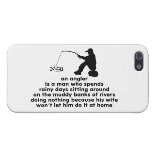 Humorous Fishing iPhone SE/5/5s Case