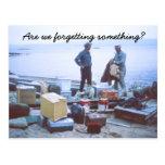 Humorous Fishing Postcard