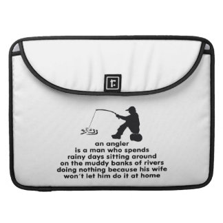 Humorous Fishing Sleeves For MacBooks