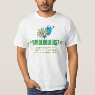 Humorous Flower Gardening T-Shirt