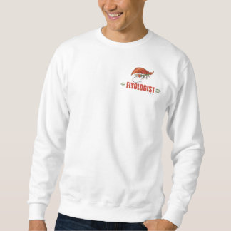 Humorous Fly Tying, Fly Fishing Sweatshirt