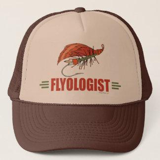 Humorous Fly Tying, Fly Fishing Trucker Hat