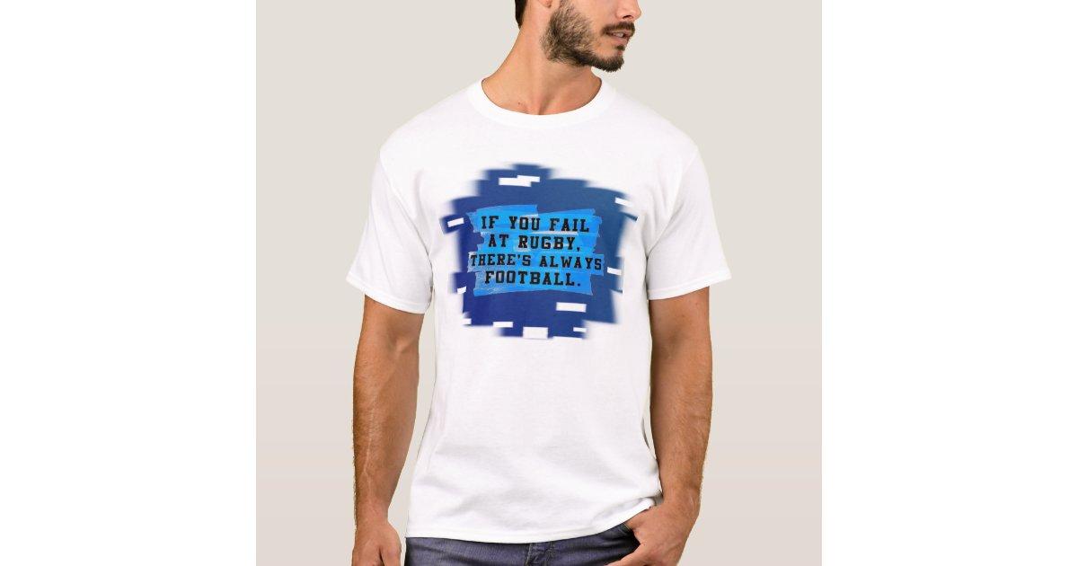 humorous football caption t shirt t shirt zazzle