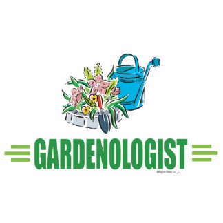Humorous Gardener, Gardening Photo Sculpture
