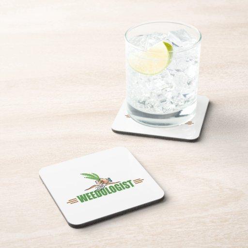 Humorous Gardening Beverage Coaster