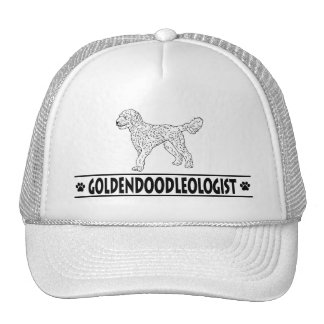 Humorous Goldendoodle Mesh Hat