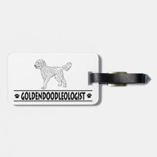 Humorous Goldendoodle Tags For Bags