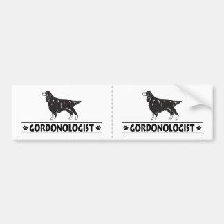 Humorous Gordon Setter Bumper Sticker