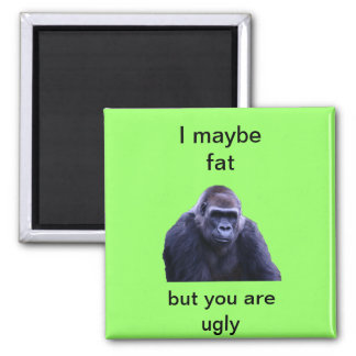 humorous gorilla products magnet