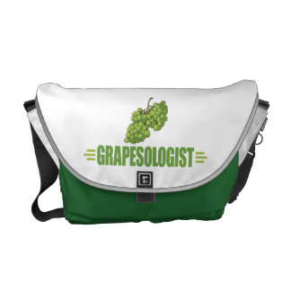 Humorous Grapes Courier Bag