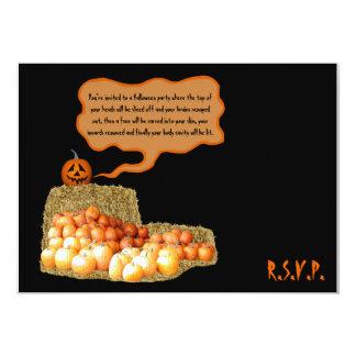 Humorous Halloween Card