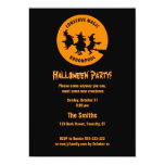 Humorous Halloween Party Announcement