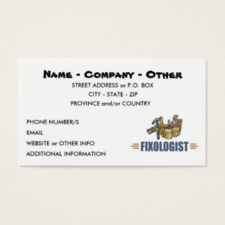 Humorous Handyman Business Card