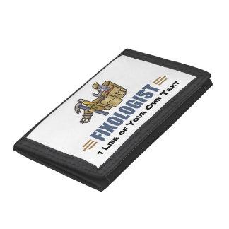Humorous Handyman Tri-fold Wallets