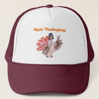 "Humorous ""Hippie Thanksgiving"" Turkey Holiday Hat"
