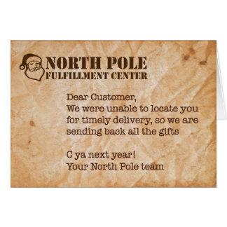 Humorous Holiday Card