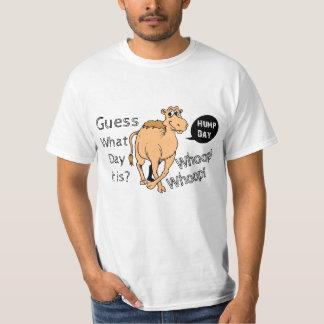 Humorous Hump Day Camel T Shirt