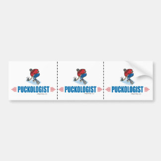 Humorous Ice Hockey Bumper Sticker
