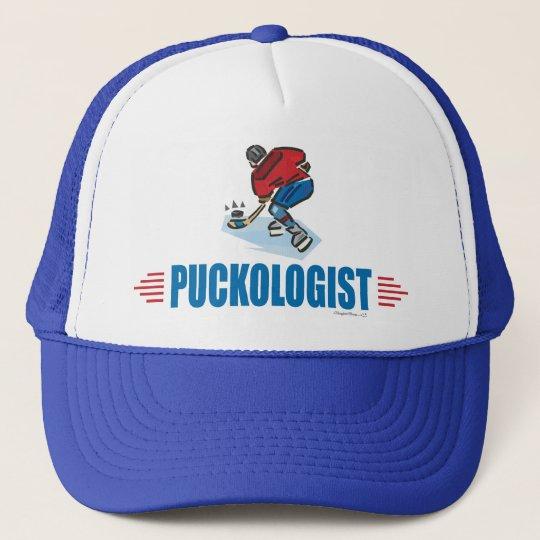 Humorous Ice Hockey Trucker Hat