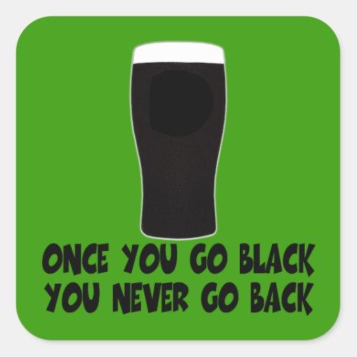 Humorous Irish Square Sticker
